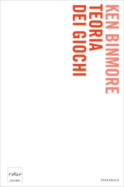 """Teoria dei gochi"" di Ken Binmore"