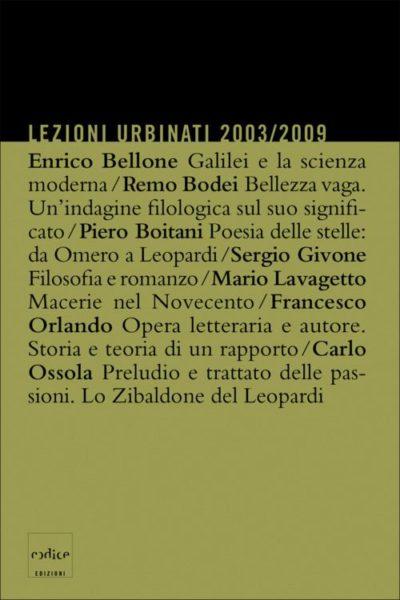 Lezioni Urbinati 2003/2009
