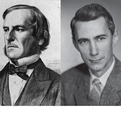 George Boole e Claud Shannon