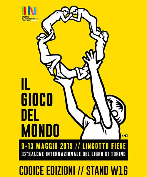 Codice edizioni al Salone internazionale del libro di Torino 2019